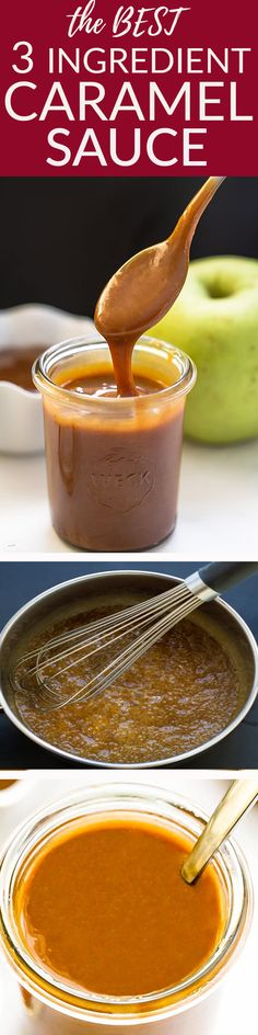 This Easy Homemade Caramel Sauce (Salted) is perfect for cakes, cupcakes, ice cream, cheesecake and any other dessert! Best of all, it's so simple to make! Easy Cake Recipes, Best Dessert Recipes, Candy Recipes, Köstliche Desserts, Delicious Desserts, Homemade Caramel Sauce, Pots, Best Food Ever, Butter Recipe