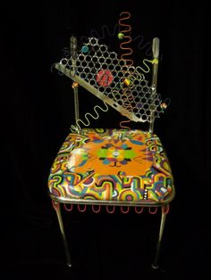 Mixed media chair