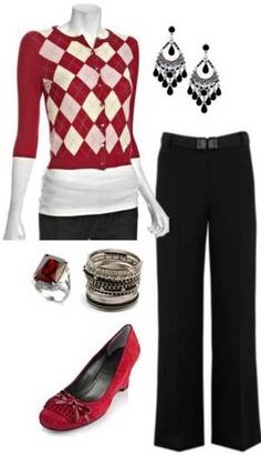 Wear It with Jeans Warm up a Summer Dress Pink and Black Comfy Argyle Boots Topped with a Warm Coat Work Outfit For a Day on the Town Skirt for the Office Casual Outfits, Cute Outfits, Fashion Outfits, Womens Fashion, Fashion Ideas, Work Wardrobe, Teacher Wardrobe, Glamour, Work Looks