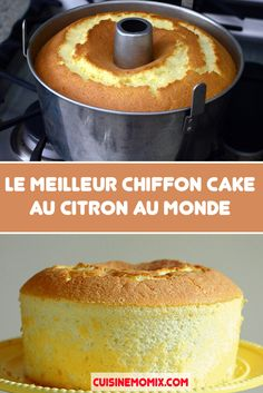 Chiffon Cake, Cake Recipes, Dessert Recipes, Cake Factory, Croissants, Piece Of Cakes, Caramel Apples, No Bake Cake, Delicious Desserts