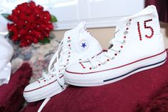 Bedazzled Quince Converse