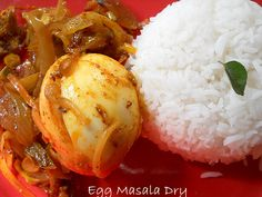 Egg Masala Dry, How to cook Indian Egg Masala Dry
