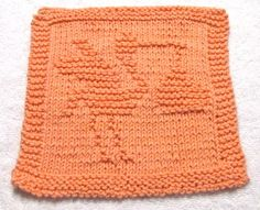 Knitting Cloth Pattern -  STORK - PFD
