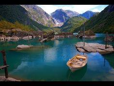 Great view of Bondhusbreen Glacier - Folgefonna Norway HD 1080p - YouTube