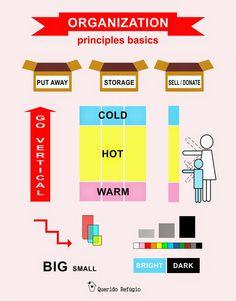 O processo de organização
