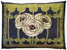 Ann Macbeth. Embroidered panel, c1906