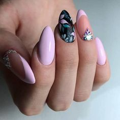 Nails floral 30 Spring Floral Nail Designs To Make You Shine - Page 16 of 30 Spring Floral Nail Designs To Make You Shine; Nail Art Designs, Nail Designs Spring, Nails Design, Design Art, Trendy Nails, Cute Nails, My Nails, Spring Nail Art, Spring Nails