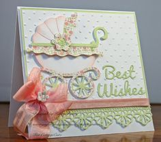 Baby Buggy - CottageCutz by rosekathleenr - Cards and Paper Crafts at Splitcoaststampers