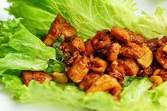 Clean Eating - Chicken Lettuce Wraps
