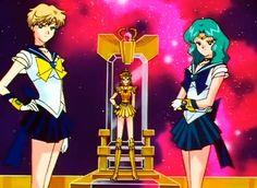 Sailor Uranus, Neptune y Sailor Galaxia