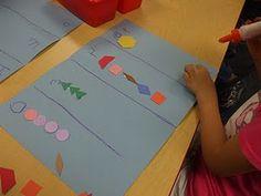 Math Tub Ideas for Kindergarten