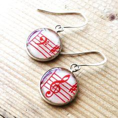 Music Clef Earrings In Red http://ift.tt/1PUQJPZ #coraliejewelry #jewelry #jewelrygram #jewelrydesign #jewelryforsale #jewelrydesigner #handmade #handmadejewelry #resin #resinjewelry #epoxyresin #etsy #etsyshop #etsyseller #etsyjewelry #whereyart #whereyartist #earrings #handmadeearrings #resinearrings #music #sheetmusic #musicjewelry #sheetmusicjewelry #musicfashion #musicaccessories #musicgifts #bassclef #trebleclef #red by coraliejewelry