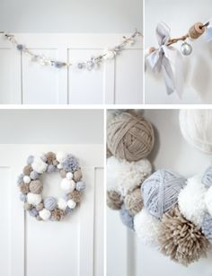 boxwood clippings_cozy diy christmas decorations