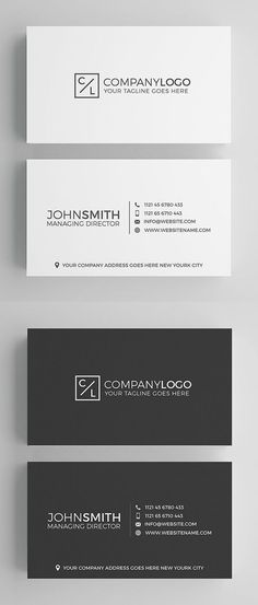 Modern business card template by emilys art boutique on simple clean and minimal business card templates ideal for personal identity or minimalist design business the super clean business card designs have been flashek Gallery