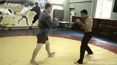 martial arts gifs - russian sambo