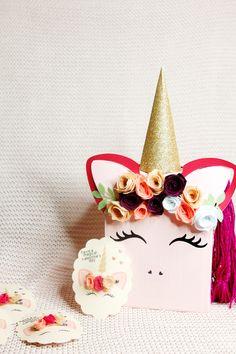 DIY Unicorn Valentine Box Hair Bow Valentines with Cricut see kate sew DIY Unicorn Valentine Box Hair Bow Valentines with Cricut see kate sew See Kate Sew see kate nbsp hellip Valentine diy Valentine Box Unicorn, Valentine Day Boxes, Valentines Art, Diy Valentine's Box, Diy Gift Box, Diy Gifts, Diy Unicorn, Diy Crafts For Girls, Idee Diy