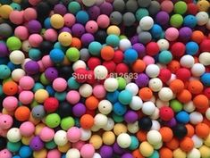 Online Shop Food Grade Silicone Teeth Beads DIY Necklaces Baby Bracelets Babies Chewing Jewelry Teethers Necklaces Mom Jewelry 100pcs/lot|Aliexpress Mobile