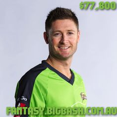 Captain Michael Clarke costs $77,800 in BBL Fantasy. Did you buy him?