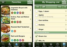 Six Apps for Eating Well