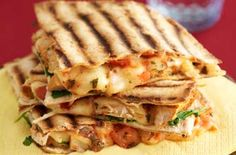 Mexican chicken and cheese Quesadillas