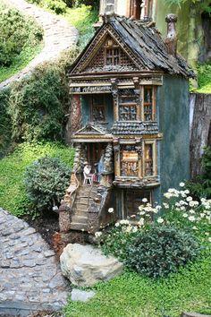Miniature Garden at the Chicago Botanic Garden