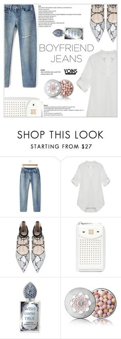 """""""Yoins"""" by shambala-379 ❤ liked on Polyvore featuring Guerlain, boyfriendjeans, yoins, yoinscollection and loveyoins"""