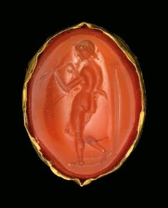 Bid in-person or online for the upcoming auction:Antiquities on 3 July 2018 at London Egyptian Jewelry, Satyr, Victorian Jewelry, Stone Carving, Carnelian, Ancient Art, Jewelery, Antiques, Rings