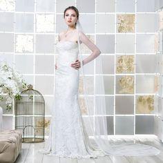 Gio Rodrigues Turim Wedding Dress amazing wedding dress cordone lace heart-shaped bandeau satin mermaid style engaged inspiration unique gorgeous elegant bride
