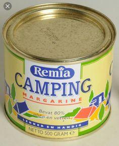Campingboter, ik vond er altijd zo'n muffe smaak aanzitten.