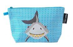 Stifte Etui mit Tiermotiv Haifisch