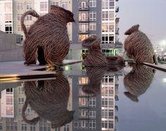 Patrick Dougherty à Chaumont-sur-Loire - Une œuvre qui nous ressemble - ArtsHebdoMédias