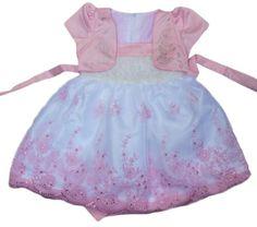 Pink Dress One Piece Princess Party Girls 4T Dress   Rudelyn's Sari Sari Store