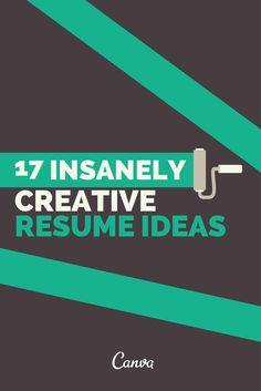 17 #CV fous, fous, fous ! Plutôt réservés à ceux qui travaillent dans la comm' mais si vous voulez vous lancez, pourquoi pas ?
