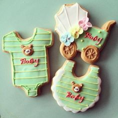 sugar cookies for baby shower