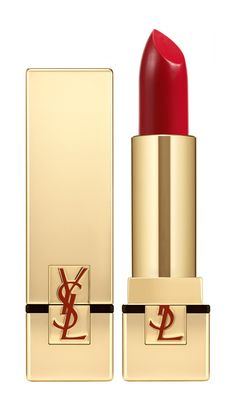 """Yves Saint Laurent 'Rouge Pur Couture' Lip Color in No. 1, $35 at Nordstrom. Lupita Nyong'o's makeup artist, Nick Barose, calls this is one of his favorite red shades. """"It's a classic red that creamy with a hint of sheen, and glamorous and sexy,"""" he says."""