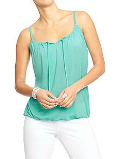 Always like these. Women's Split-Neck Jersey Camis | Old Navy