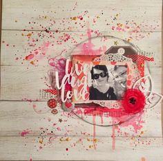 Les pages d'Isa: Artist, Mixed Media, Movie Posters, Scrapbooking, Inspiration, Biblical Inspiration, Film Poster, Mixed Media Art, Scrapbooks