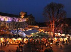 Winchester Christmas Market. England