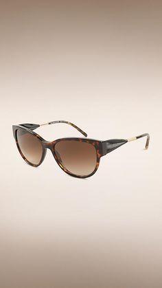 a3411310aea8 Ebony Gabardine Collection Cat-eye Sunglasses - Cat Eye Sunglasses