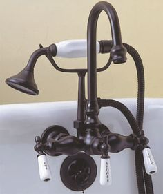Faucet for my claw foot tub?...but first, May I please have a claw foot tub again, before I am too old? ( :