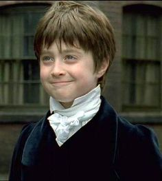 Daniel Radcliffe takes the part of David child in the remaking of the film David Copperfield. He shared the screen with another Harry Potter great - Dame Maggie Smith.