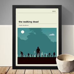 The Walking Dead Poster, TV Print, Print, Poster by LawandMoore on Etsy https://www.etsy.com/uk/listing/266727447/the-walking-dead-poster-tv-print-print