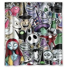 Custom Unique Design The Nightmare Before Christmas Skull Waterproof Fabric Shower Curtain, 72 by 66-Inch Shower Curtain http://www.amazon.com/dp/B00NILFQCU/ref=cm_sw_r_pi_dp_2thfxb0RTRW9T  20 each