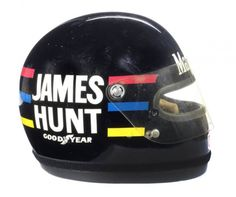 #JamesHunts 1976 Bell Helmet