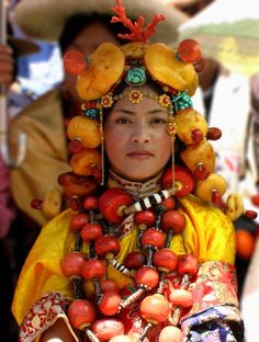 Khampa Tibetan Costume at Litang | Flickr - Photo Sharing!