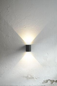 Canto 6W LED Vegglampe - Lightup.no - Nettbutikk med belysning, utebelysning og…