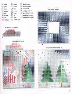 Plastic Canvas Stitches, Plastic Canvas Tissue Boxes, Plastic Canvas Crafts, Plastic Canvas Patterns, Christmas Crafts Sewing, Sewing Crafts, Tissue Box Covers, Tissue Holders, Plastic Canvas Christmas