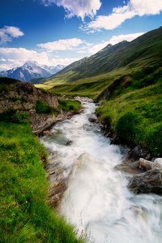 Swiss Alps Escape by Jon Reid -  Mountain Scenery Photography