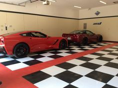 Loving these cars! #GarageFlooring