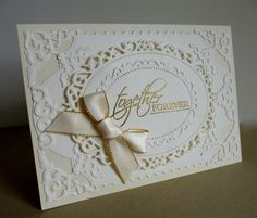 Gold and cream by sistersandie - Cards and Paper Crafts at Splitcoaststampers